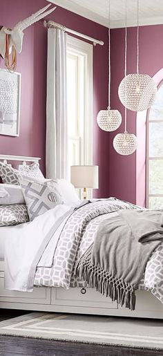 Peyton Girls Room Bedding