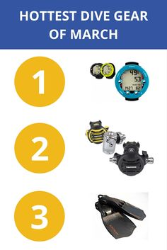 The Hottest Dive Gear of March Diving, Gears, March, Marketing, Hot, Check, Scuba Diving, Gear Train, Mars