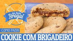 COMO FAZER COOKIE RECHEADO COM BRIGADEIRO | Ana Maria Brogui #399