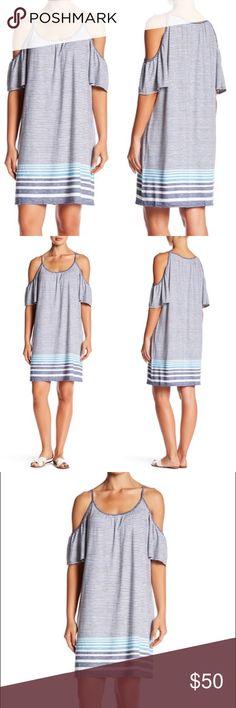 • Max Studio • Cold Shoulder Striped Dress New Max Studio Cold Shoulder Striped Dress. Available in sizes Medium and Large Max Studio Dresses