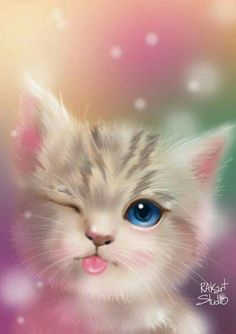 58 ideas for cats cute art kittens Tier Wallpaper, Cute Cat Wallpaper, Cute Wallpaper Backgrounds, Cute Cartoon Wallpapers, Animal Wallpaper, Baby Wallpaper, Food Wallpaper, Travel Wallpaper, Nature Wallpaper