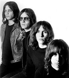 From Left to Right - Scott Asheton , Ron Asheton , Dave Alexander , Iggy Pop (The Stooges)