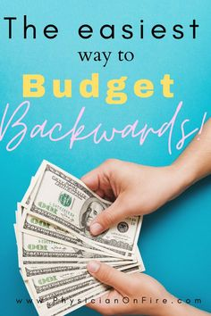 How to budget backward! Budgeting Finances! Doing things backwards doesn't often yield desirable results, but there are times when working backwards to solve a problem can be helpful. Budgeting, which is something I've never actually done, is one of them. Hence, the backwards budget. Apartment decorating on a budget. How to live on a budget. Budgeting for beginners. Budgeting finances. #budgeting #budgetingfinances #howtosavemoney #howtoliveonabudget Save Money On Groceries, Ways To Save Money, Budgeting Finances, Budgeting Tips, Making A Budget, Making Ideas, College Student Budget, Living On A Budget, Frugal Living