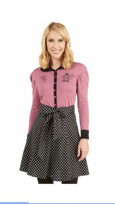 Black Musee Matisse in Black Dots sz Large