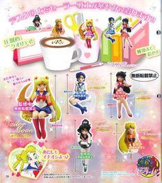 Sailor Moon: 20th Anniversary - Desk ni Maiorita Sailor Senshi Set of 5 $22.50