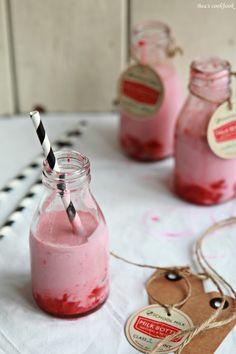 Strawberry(layered) MILKSHAKE