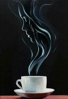 Velvet Painting, Dark Art Drawings, Shadow Art, Illusion Art, Tea Art, Foto Art, Silhouette Art, Coffee Art, Simple Art