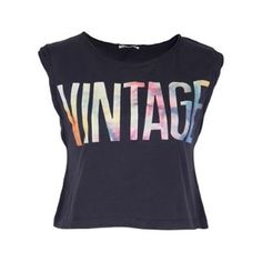 SoulCal Vintage Crop Top - USC | Up to 50% off | Summer Sale Now On