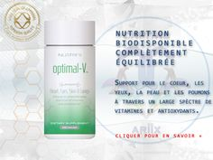 CAPITAL ARIIX® : Optimal-V | Nutrifii, le soutien nutritionnel capital pour une santé optimale..