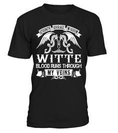 WITTE Blood Runs Through My Veins #Witte