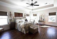 cedar hill farmhouse - master bedroom