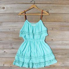 Arizona Summer Dress in Turquoise