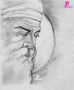 Poetry: Gurpurab Quotes and SMS with Guru Nanak Dev Ji Images<br> Guru Nanak Ji, Nanak Dev Ji, Disney Drawings, My Drawings, Buddha Painting, Painting Canvas, Guru Nanak Jayanti, Pencil Drawings For Beginners, Sikh Quotes