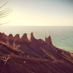 Sodus, NY - Chimney Bluffs