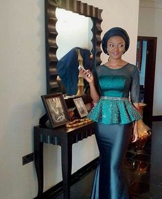 Look Out Of The World In These Classy And Trendy Aso Ebi Styles - Wedding Digest NaijaWedding Digest Naija