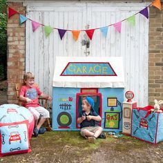 Children's Play Houses for Girls & Boys | Canvas & Willow | Canvas & Willow
