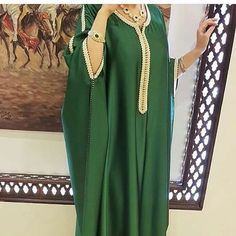 Morrocan Dress, Moroccan Caftan, Casual Dresses Plus Size, Stylish Dresses, Arab Fashion, African Fashion, Skirt Fashion, Fashion Dresses, Mode Abaya