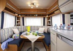 Fendt Caravan, Mobile Home, New Hobbies, Conference Room, Table, Furniture, Home Decor, Camper Van, Decoration Home