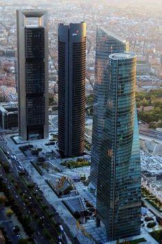 Las cuatro torres de La Castellana