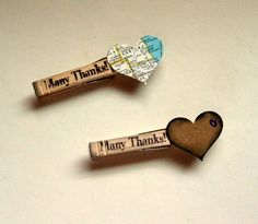 magnets wedding favors, clothespin shabby rustic, RESERVED for daylee