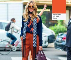 fashion colour flame