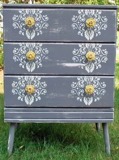 7 Daring Ways to Revamp an Old Dresser | At Home - Yahoo! Shine