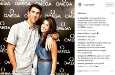 Michael Phelps said that he 'can't wait for the next chapter' of his life with fiancée Nicole Johnson in a sweet Instagram post. He shared a picture of them together at the Swimming Legends event hosted by Omega in Rio on Monday