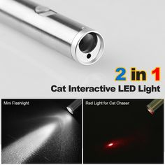 Cat Chaser Toys,Myguru 2 in 1 Multi Function Funny Cat Chaser Toys Interactive LED Light,Training Tools -- Visit the image link more details. (This is an affiliate link) Funny Cats, Funny Animals, Baby Lips Maybelline, Cat Light, Mini Flashlights, Interactive Cat Toys, Kitten Toys, Dog Accessories, Dog Toys