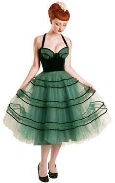 """1950's """"Vivienne"""" Fiftie Fifties Cocktail Dress by Designer Revamp Vintage Available at Get Go Retro"""
