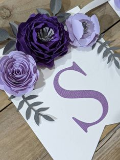 Personalized paper flower garland with purple flowers Baby | Etsy Paper Flower Garlands, Paper Flower Backdrop, Paper Flowers, Baby Shower Purple, Floral Banners, Baby Name Signs, Flower Wall, Purple Flowers, Light In The Dark
