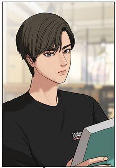 Jason Tyler ref I Love Yoo Webtoon, Exo Anime, Boy Illustration, Webtoon Comics, Amazing Drawings, Boy Art, Cute Love, Anime Style, True Beauty
