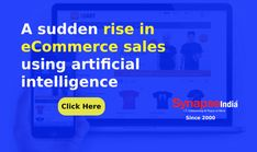 Increase product sales of ECOMMERCE BUSINESS with the implementation of ARTIFICIAL INTELLIGENCE TECHNOLOGY.   SynapseIndia is a trusted IT COMPANY to avail technical services at a low-cost. Artificial Intelligence Technology, Ecommerce, Mindfulness, Business, Store, E Commerce, Business Illustration, Consciousness