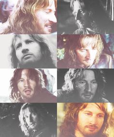 Faramir is a great character in the films, and even more so in the books. If you ever get a chance to read them do it, and marvel in the wisdom that is Faramir.