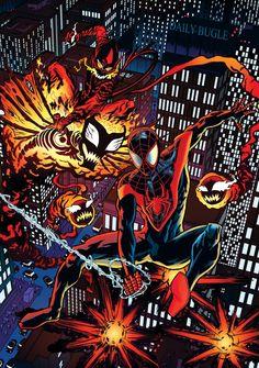 Marvel Comics Art, Marvel Comic Universe, Comics Universe, Marvel Heroes, Comic Games, Comic Movies, Comic Books Art, Book Art, Spiderman Vs Superman