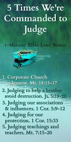 Biblical Judgment: 5 Things to Avoid & 5 Times We're Commanded to Judge Bible Teachings, Bible Scriptures, Bible Quotes, Bible Prayers, Lyric Quotes, Quotes Quotes, Bible Study Notebook, Scripture Study, Notebook Quotes