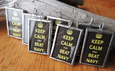 Keep Calm and Beat Navy by themadisongallery on Etsy, $15.00