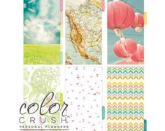 Color Crush A2 Personal Planner Divider Set Count by iArtisans