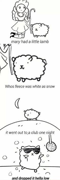 Nursery rhymes nowadays