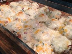 INGREDIENTS 24 button mushrooms (cleaned and stems removed) 1 1/2 cups warm cheese dip(not yet warmed) 1 1/2 cups grated cheese blend (I used cheddar and monteray jack) DIRECTIONS Preheat o...