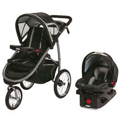 "Graco FastAction Fold Click Connect Jogger Travel System Stroller - Road Runner - Graco - Babies ""R"" Us"