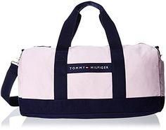 Tommy Hilfiger Stripe Canvas Medium Duffle Bag