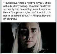 When legolas leaves... oww. His character is so misrepresented in the movies. He was actually pretty nice in the books. A little stubborn but understandably so.