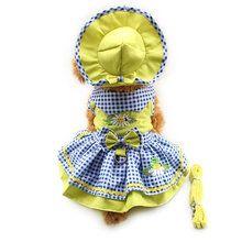 Click The Pict For Detail Armi store Flower Pattern Dog Dresses Princess Dress Dogs 6071055 Pet Supplies ( Dress + Hat + Pant Small Dog Clothes, Pet Clothes, Small Dog Breeds, Small Dogs, Pet Dogs, Pets, Dog Pattern, Pet Costumes, Dress Hats