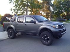 nissan navara raised suspension - Google Search