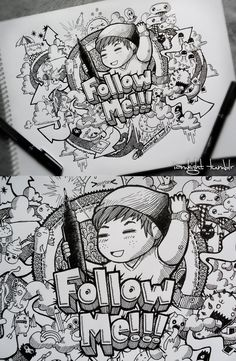Follow Me Doodle By Lei Melendres On DeviantART