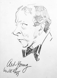 """""""Art Young"""" - James Montgomery Flagg"""