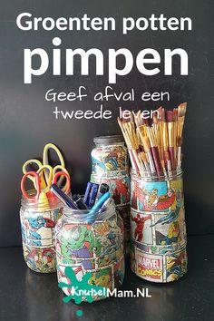 groenten potten pimpen Knutselmam.nl