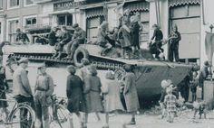 1944 Middelburg: Britse tanks op de Dam