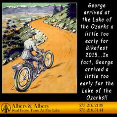 Poor George! Real Estate Humor at the Lake of the Ozarks