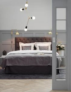 Gullkant i hverdagen - Shop hjeminnredning online på jotex. Dream Bedroom, Home Bedroom, Bedroom Decor, Interior Design Living Room, Living Room Decor, Cozy Living, House Rooms, Luxury Interior, Future